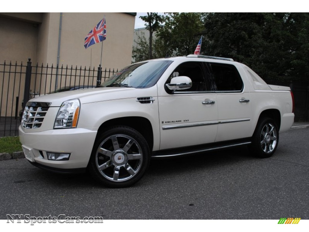 2009 cadillac escalade ext awd in white diamond 167155 cars for sale in. Black Bedroom Furniture Sets. Home Design Ideas
