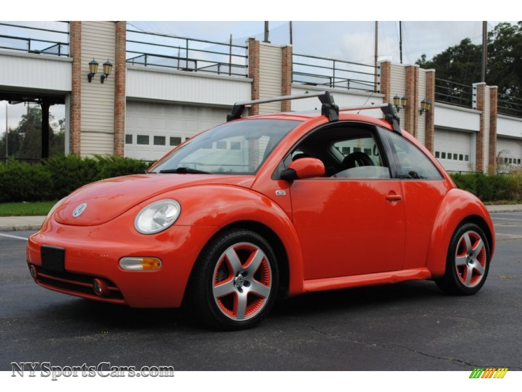 2002 Volkswagen New Beetle Special Edition Snap Orange Color Concept Coupe in Snap Orange ...