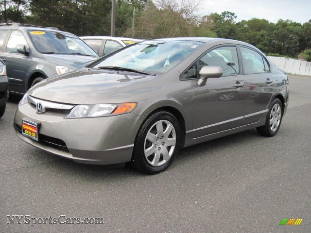 2008 Honda Civic Lx Sedan In Galaxy Gray Metallic 316110