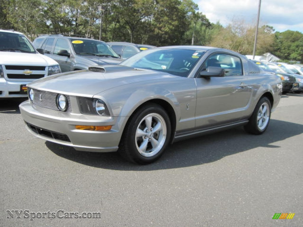 2009 Ford Mustang Gt Coupe In Vapor Silver Metallic