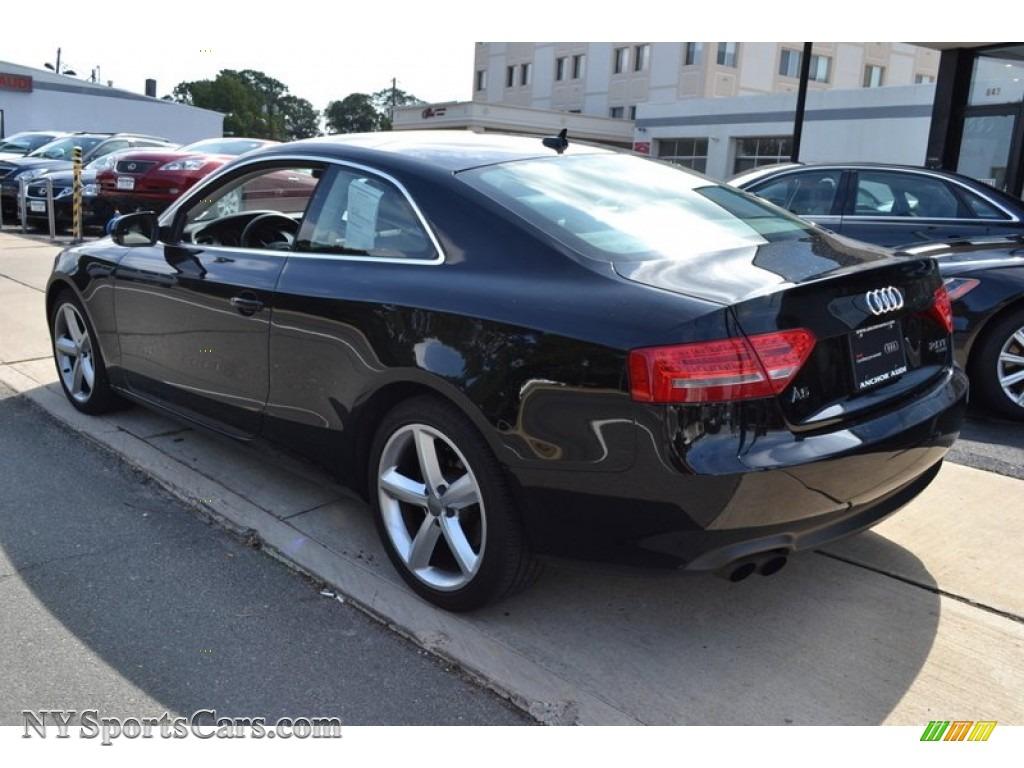 2010 Audi A5 2 0t Quattro Coupe In Brilliant Black Photo