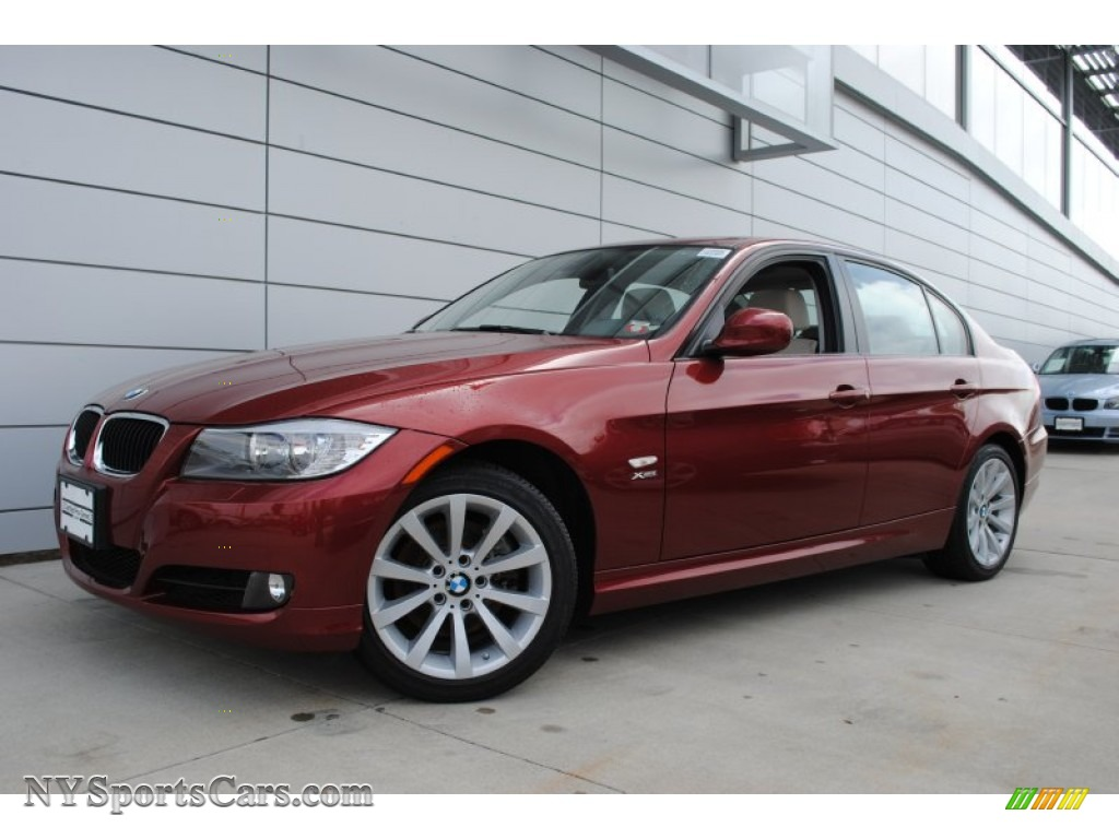 2011 Bmw 3 Series 328i Xdrive Sedan In Vermillion Red