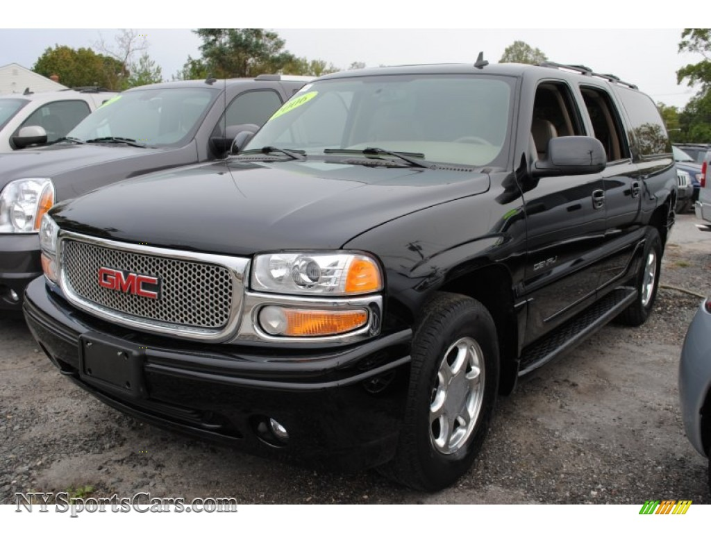 2006 yukon xl denali awd onyx black sandstone photo 1