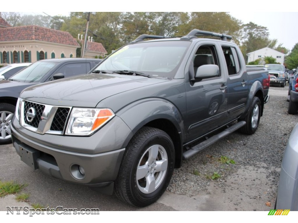 2006 nissan frontier le crew cab 4x4 in storm gray 440330 cars for sale. Black Bedroom Furniture Sets. Home Design Ideas
