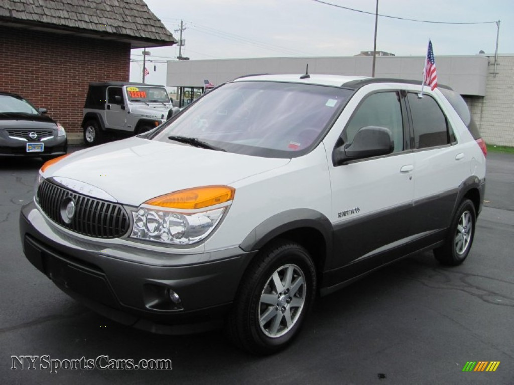 2003 buick rendezvous cx in olympic white 538701 nysportscars olympic white gray buick rendezvous cx publicscrutiny Images