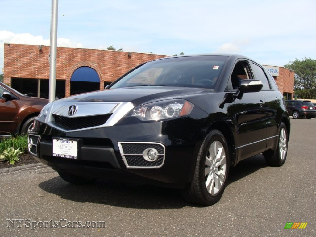 2010 acura rdx sh awd technology in crystal black pearl 000750 cars for. Black Bedroom Furniture Sets. Home Design Ideas