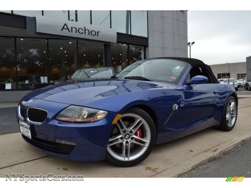 2008 bmw z4 3.0i roadster in montego blue metallic - w74541