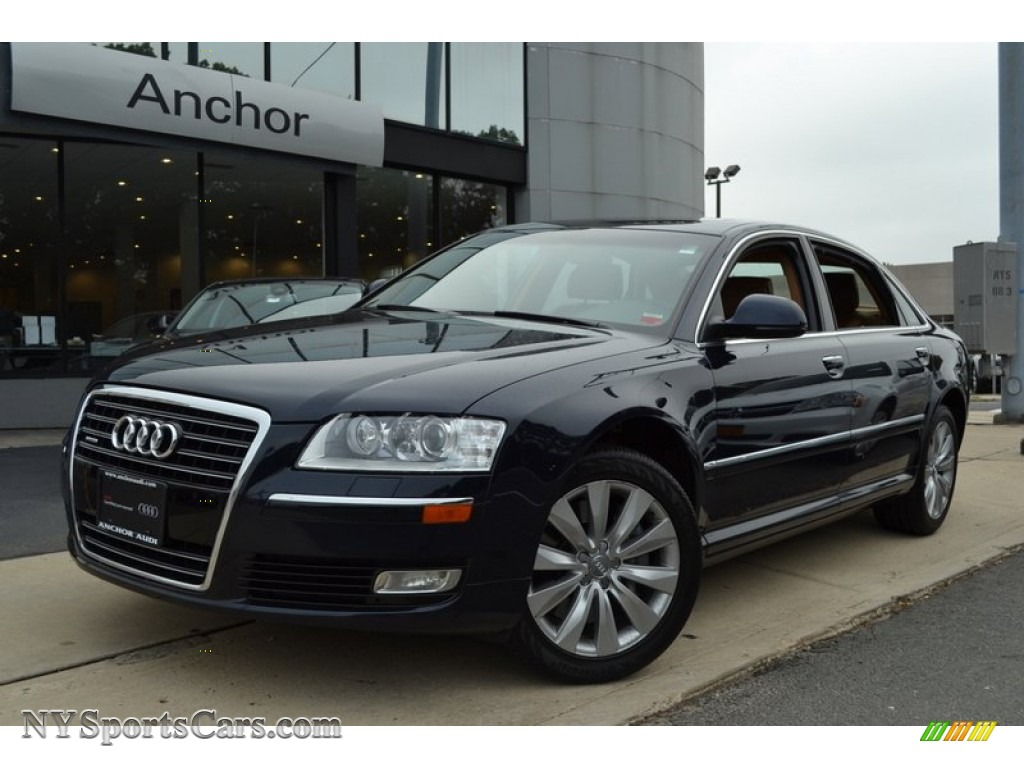 2009 Audi A8 L 4 2 Quattro In Night Blue Pearl Effect