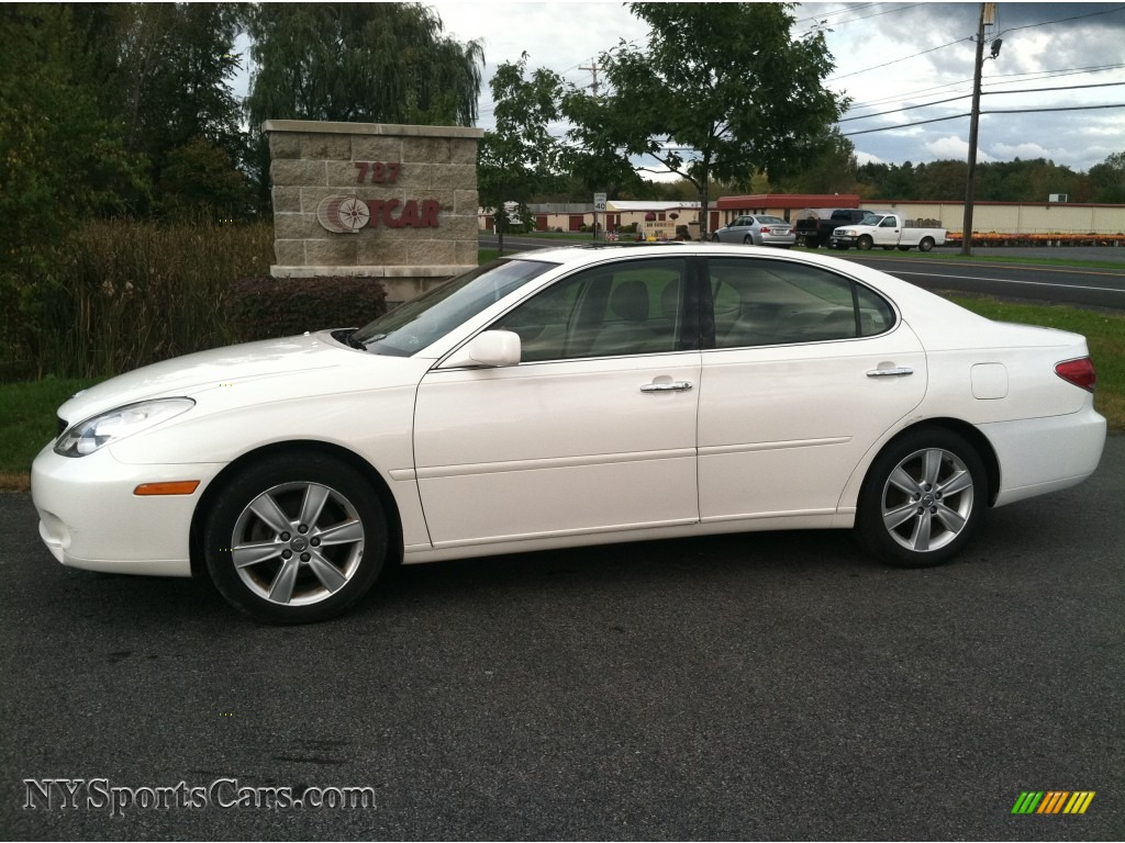 2005 Lexus Es 330 In Crystal White 084264 Nysportscars Com Cars For Sale In New York