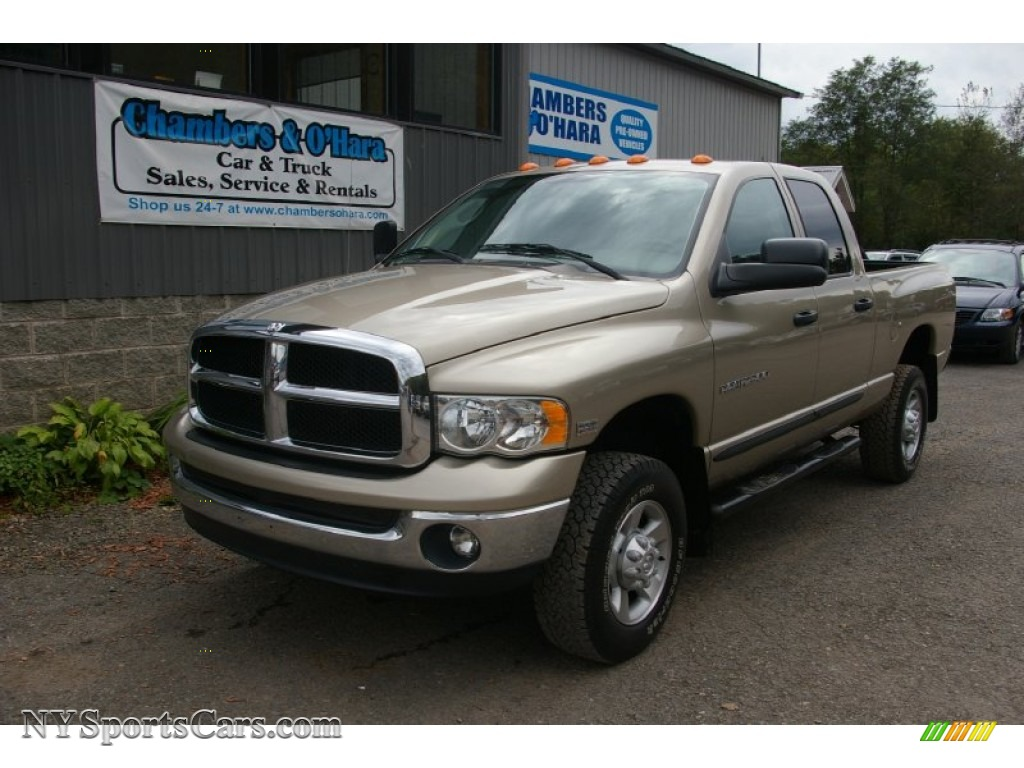 2003 dodge ram 2500 slt quad cab 4x4 in light almond pearl. Black Bedroom Furniture Sets. Home Design Ideas