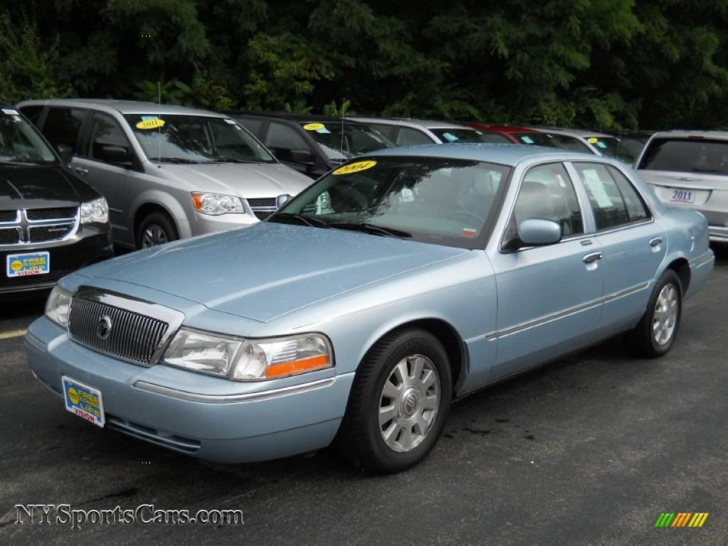 2004 Mercury Grand Marquis Ls In Light Ice Blue Metallic