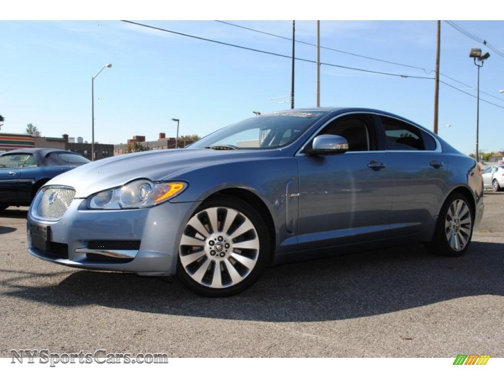 2009 jaguar xf premium luxury in azure blue metallic r13933 cars for sale. Black Bedroom Furniture Sets. Home Design Ideas