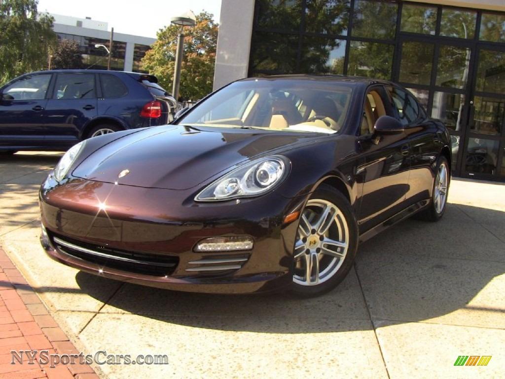 2012 Porsche Panamera 4 In Mahogany Metallic 012208