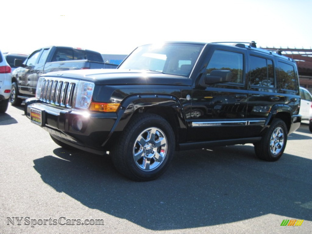 2006 jeep commander limited 4x4 in black 214693 cars for sale in new york. Black Bedroom Furniture Sets. Home Design Ideas
