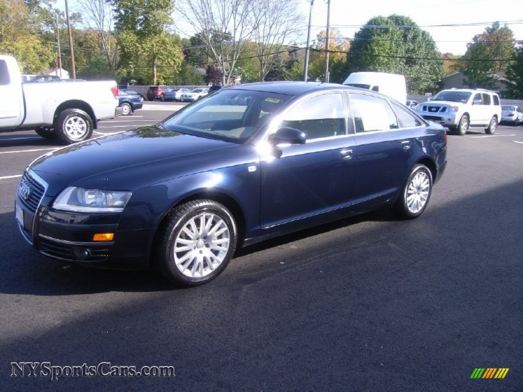 2006 audi a6 3 2 quattro sedan in night blue pearl 037531 cars for sale. Black Bedroom Furniture Sets. Home Design Ideas