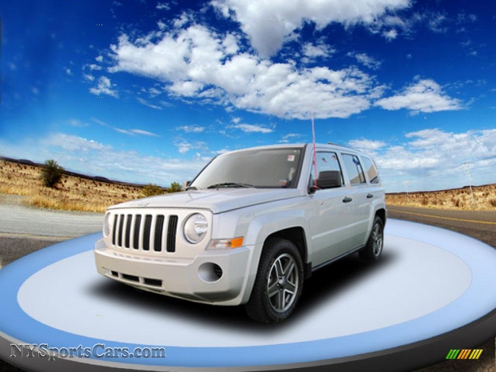2008 Jeep Patriot Sport 4x4 In Bright Silver Metallic