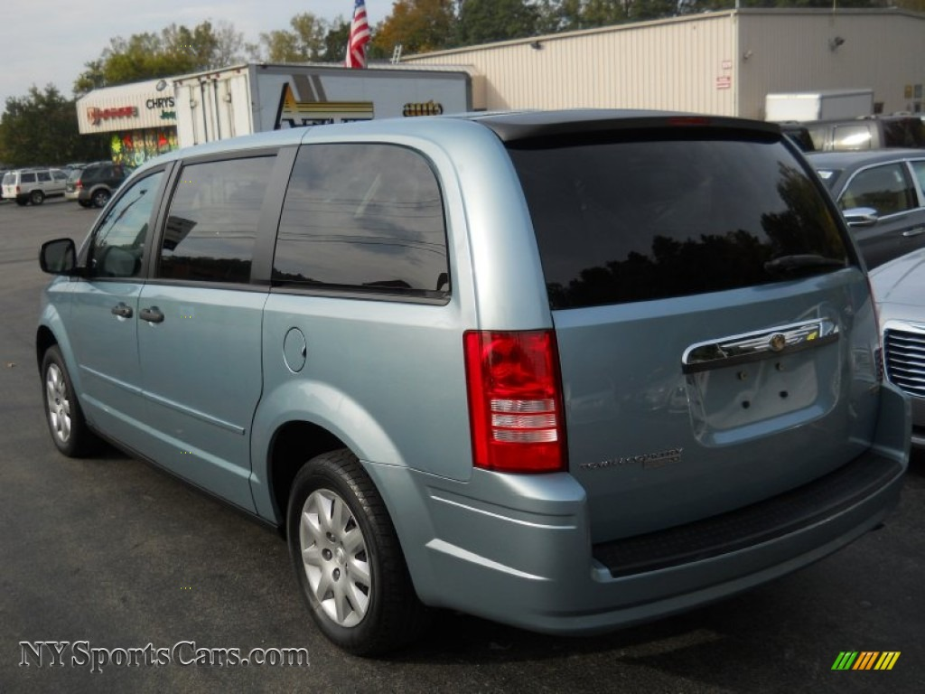 2008 chrysler town country lx in clearwater blue pearlcoat photo 13 727083 nysportscars. Black Bedroom Furniture Sets. Home Design Ideas
