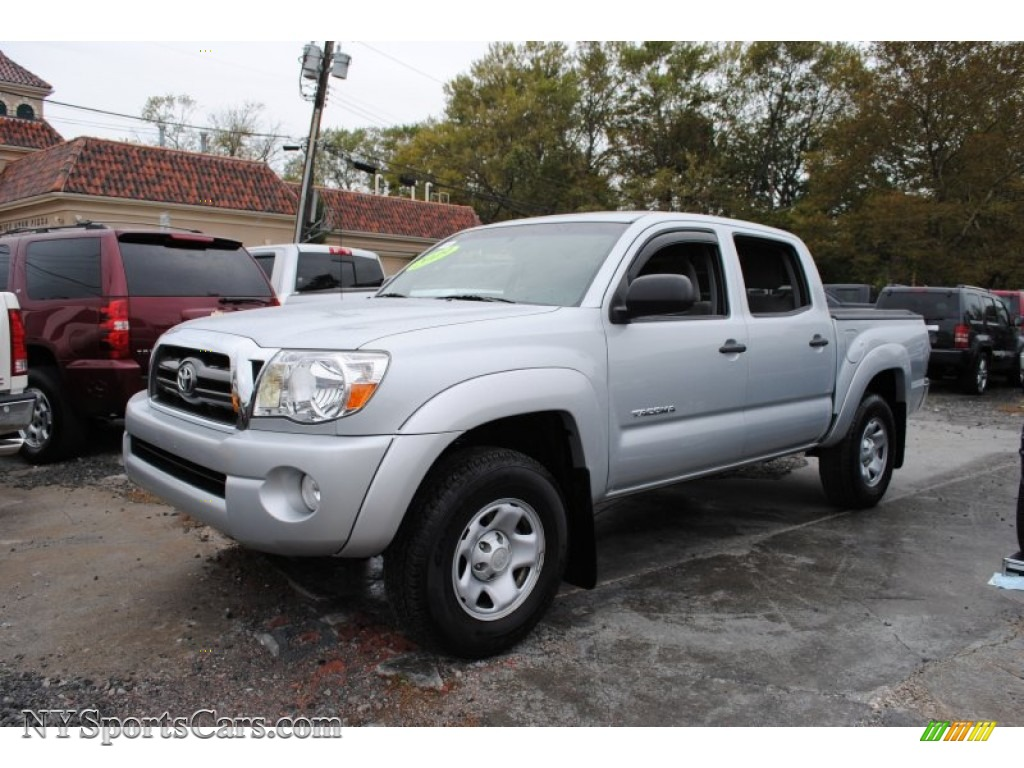2009 Toyota Tacoma V6 Sr5 Prerunner Double Cab In Silver