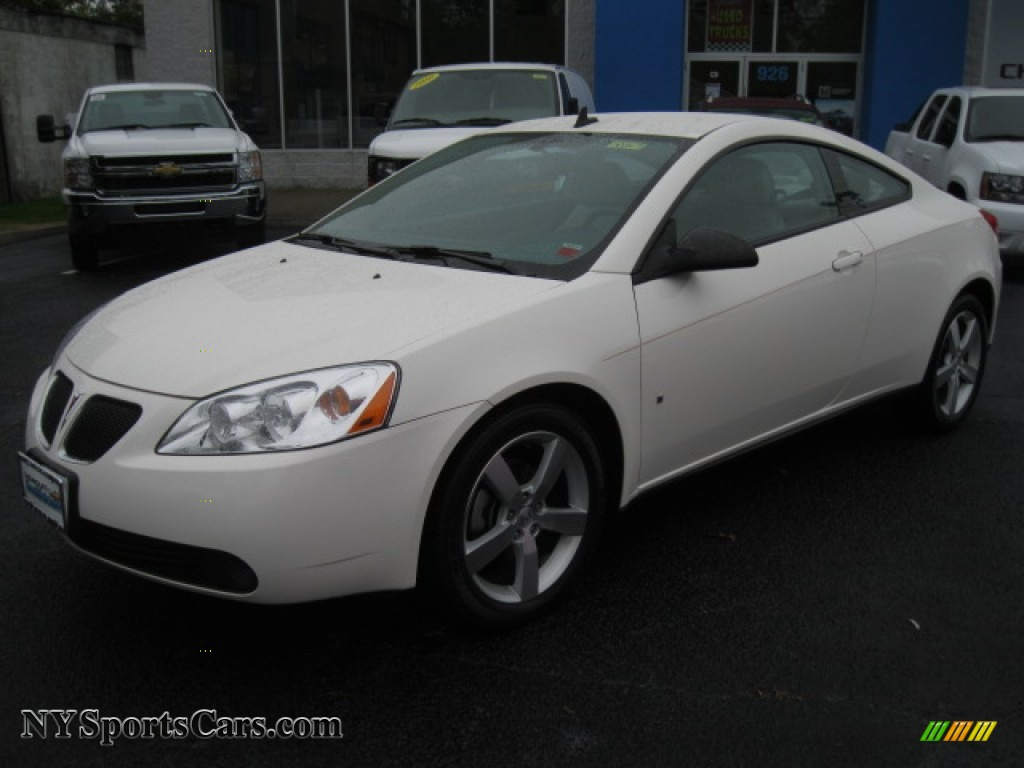 2008 Pontiac G6 GT Coupe in White Diamond Tri Coat photo #2 - 261880 ...