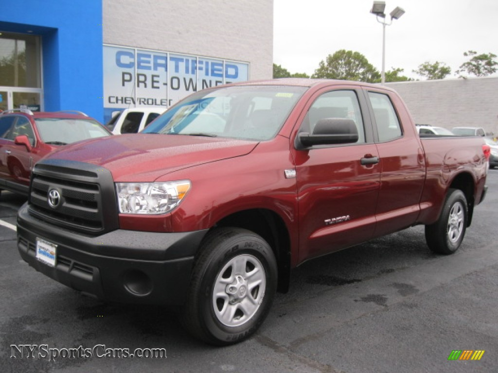 2010 toyota tundra double cab 4x4 in salsa red pearl photo. Black Bedroom Furniture Sets. Home Design Ideas