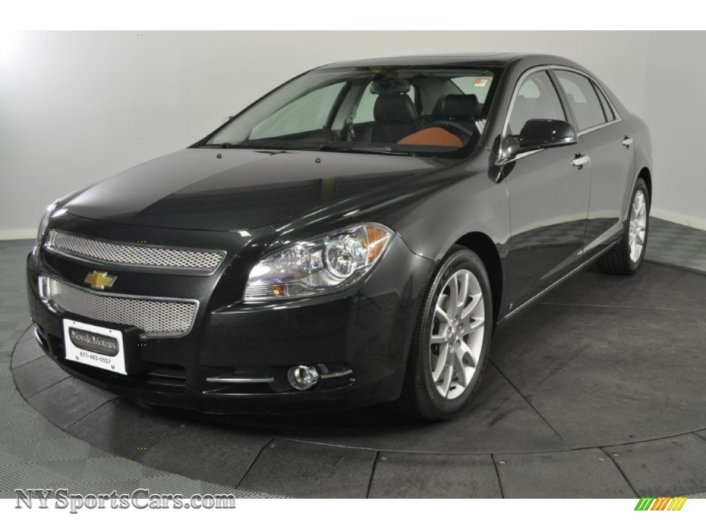 2009 chevrolet malibu ltz sedan in black granite metallic 118567 cars for. Black Bedroom Furniture Sets. Home Design Ideas