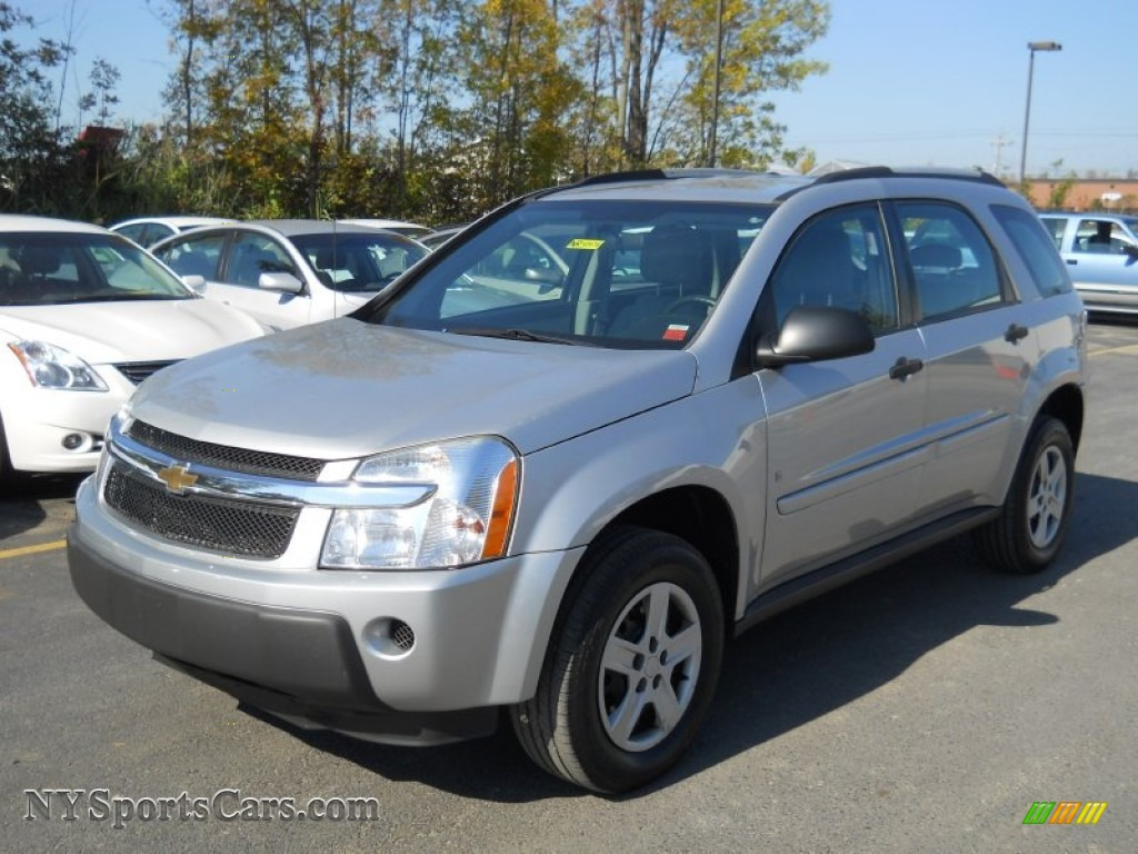 2006 Chevrolet Equinox LS in Galaxy Silver Metallic  124480