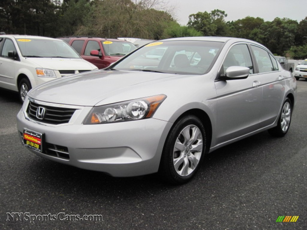 2010 Honda Accord Ex L Sedan In Alabaster Silver Metallic