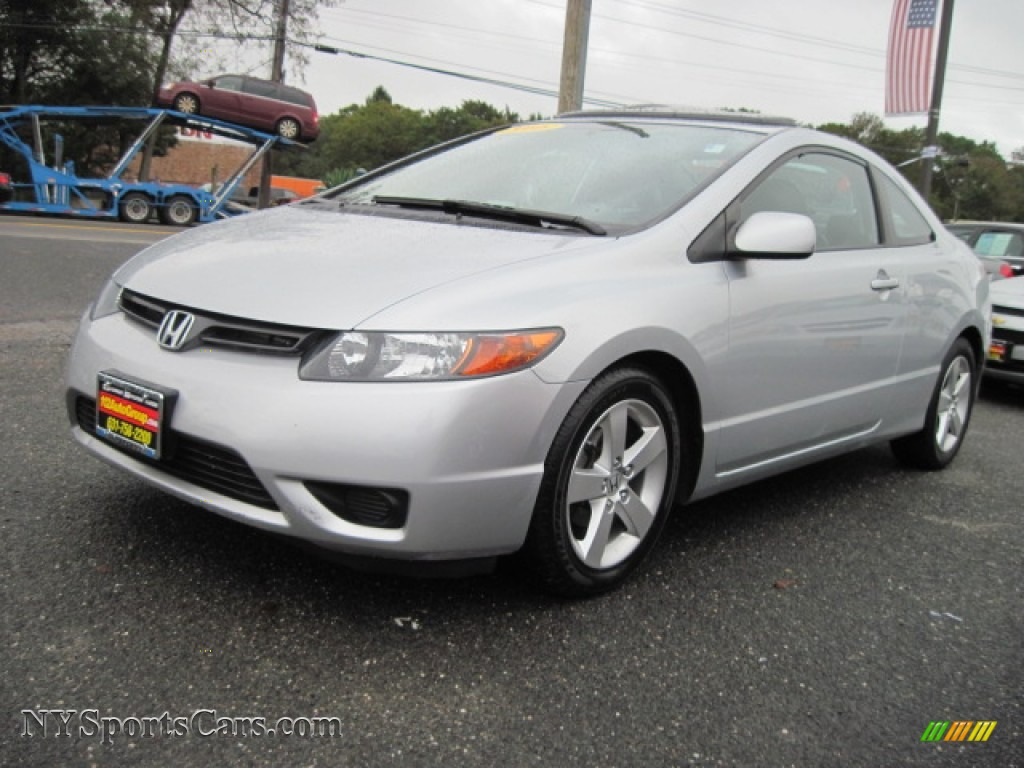 2008 honda civic ex l coupe in alabaster silver metallic. Black Bedroom Furniture Sets. Home Design Ideas