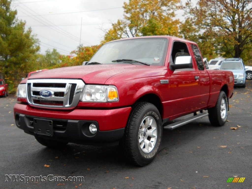 2011 ford ranger xlt supercab 4x4 in redfire metallic. Black Bedroom Furniture Sets. Home Design Ideas