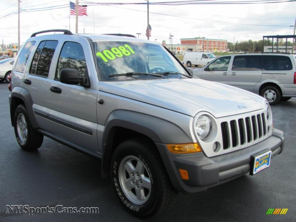 2006 jeep liberty sport 4x4 in bright silver metallic - 128030