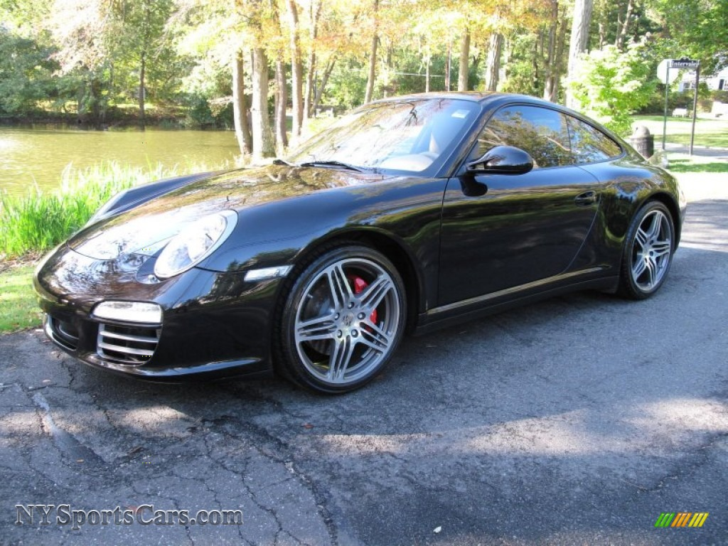 2010 porsche 911 carrera 4s coupe in basalt black metallic 720643 cars. Black Bedroom Furniture Sets. Home Design Ideas