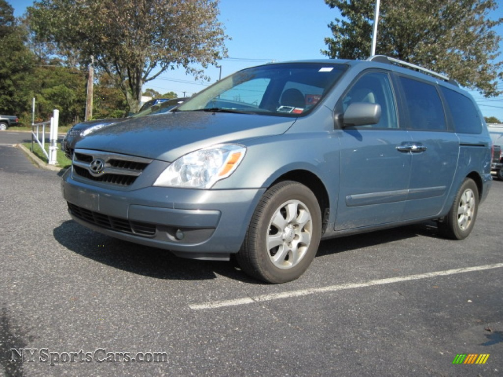 Green Meadow Gray / Gray Hyundai Entourage GLS