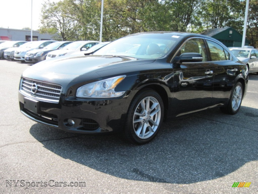 2009 nissan maxima 3 5 sv sport in super black 809187 cars for sale in. Black Bedroom Furniture Sets. Home Design Ideas