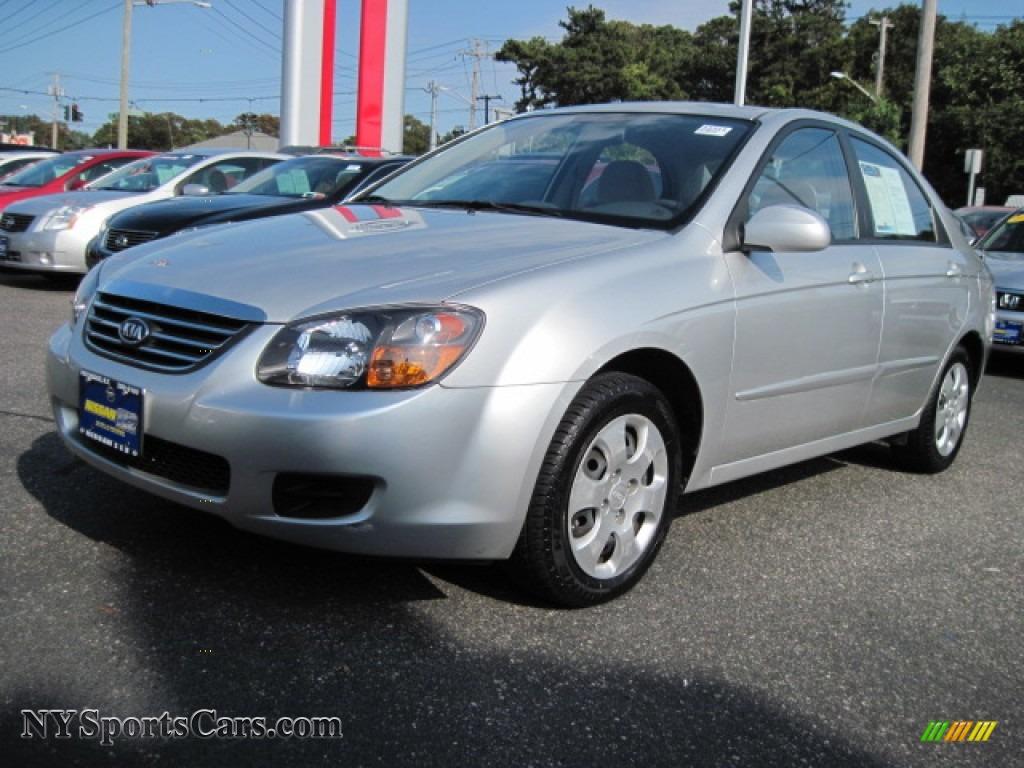 2009 Kia Spectra Ex Sedan In Bright Silver Metallic