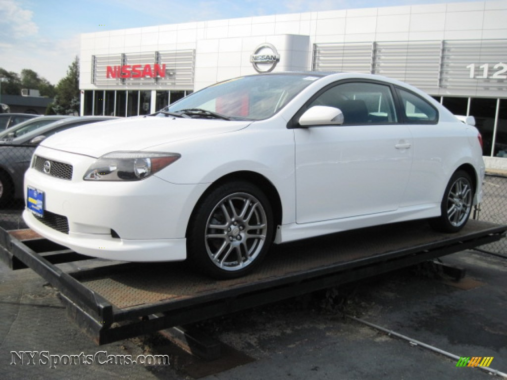 2007 Scion Tc In Super White 176121 Nysportscars Com