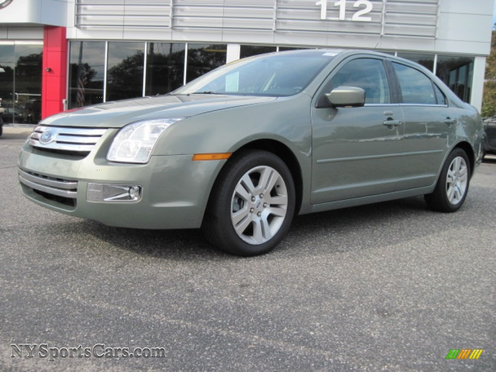 2009 Ford Fusion Sel In Moss Green Metallic 168413