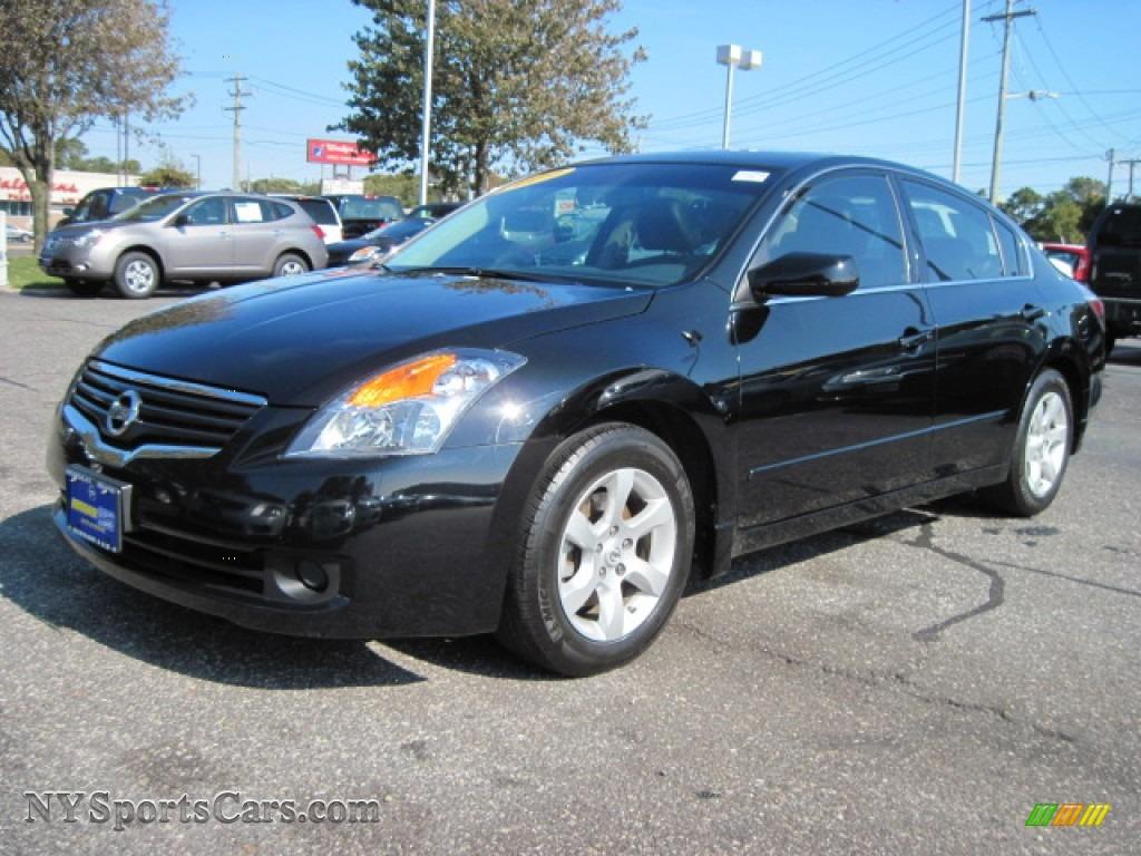 2009 Nissan Altima 2 5 Sl In Super Black 486409