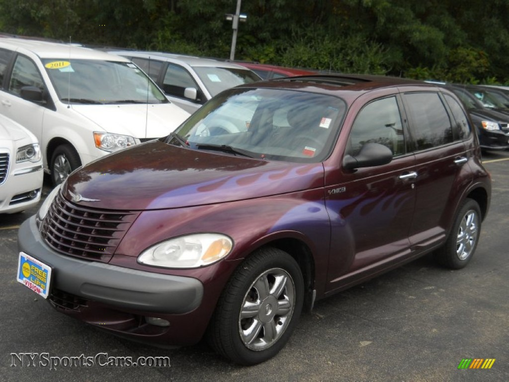 2002 Chrysler Pt Cruiser Limited In Deep Cranberry