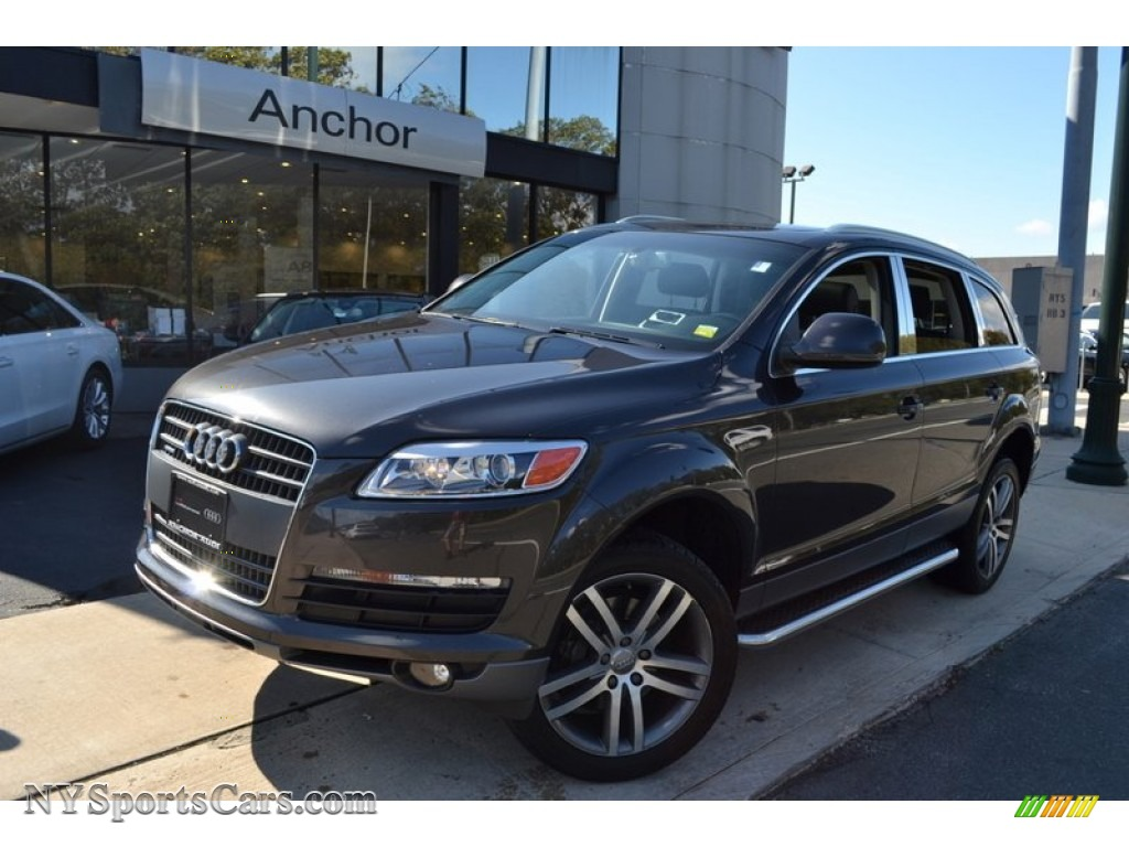 2007 audi q7 4 2 premium quattro in lava gray pearl effect 059108 cars. Black Bedroom Furniture Sets. Home Design Ideas