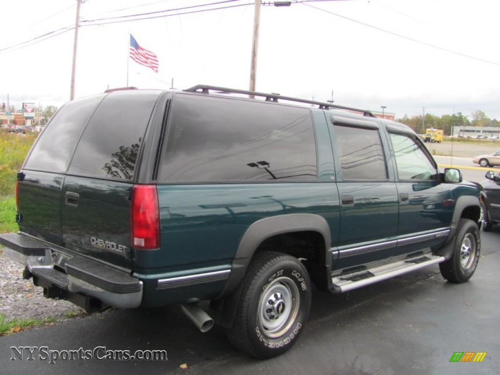 1995 Chevrolet Suburban K2500 4x4 in Forest Green Metallic ...