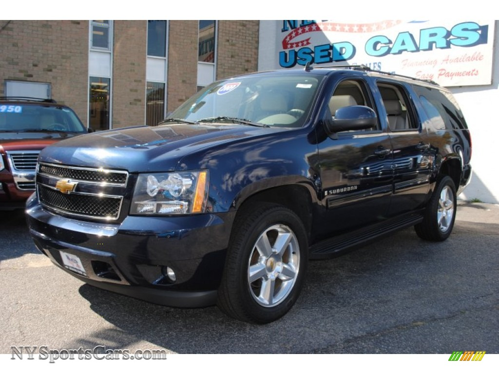 2009 chevrolet suburban lt 4x4 in dark blue metallic. Black Bedroom Furniture Sets. Home Design Ideas