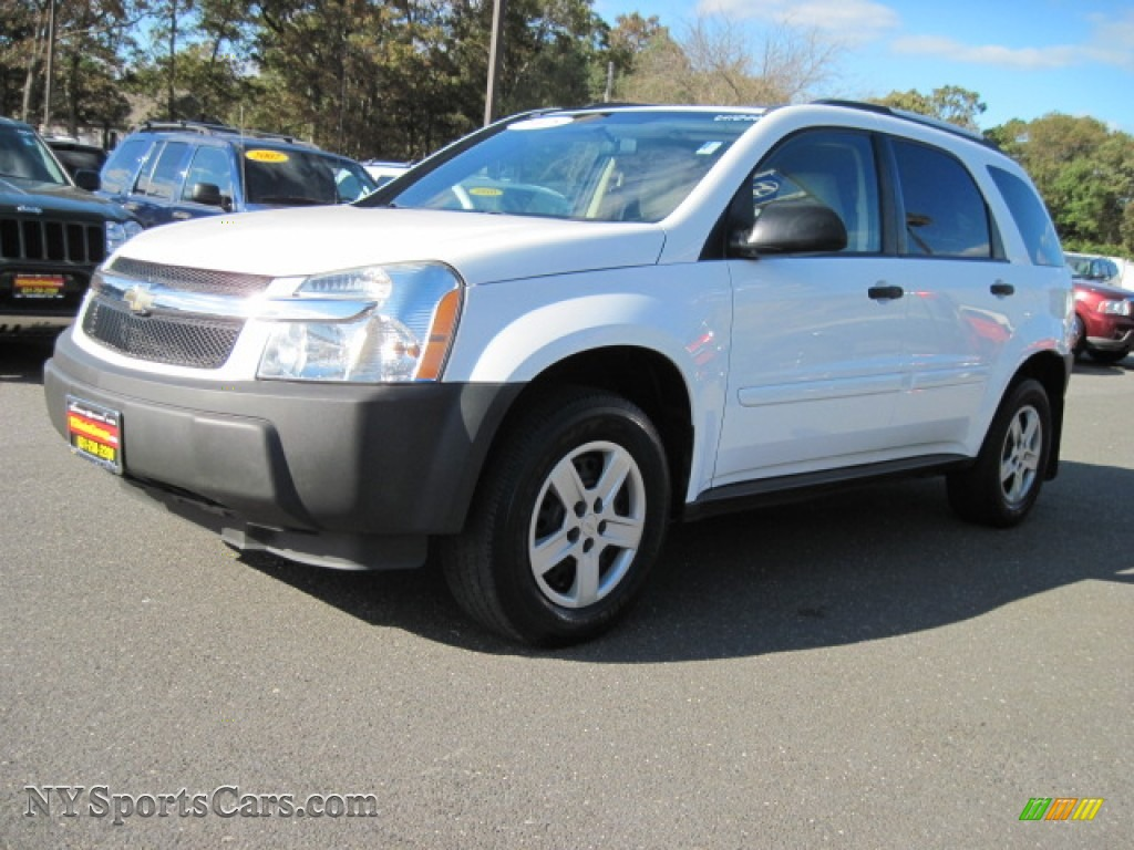 2005 chevrolet equinox ls awd in summit white - 197898
