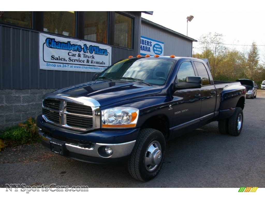 2006 dodge ram 3500 slt quad cab 4x4 dually in patriot. Black Bedroom Furniture Sets. Home Design Ideas