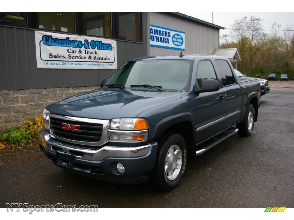 2006 Gmc Sierra 1500 Slt Z71 Crew Cab 4x4 In Stealth Gray