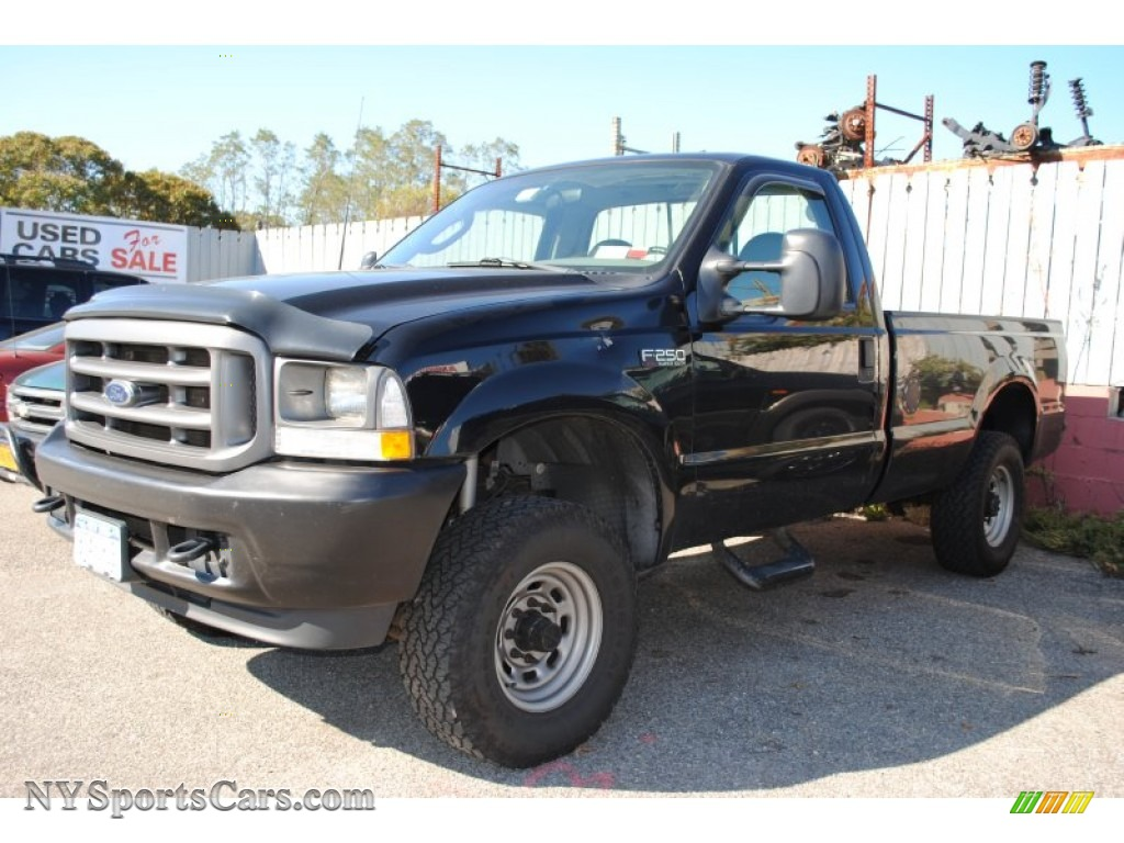 Black medium flint grey ford f250 super duty xl regular cab 4x4