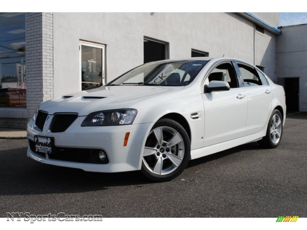 2009 Pontiac G8 Gt In White Hot 202048 Nysportscars Com Cars For Sale In New York