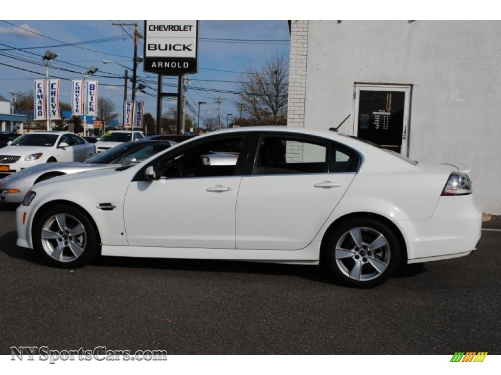 2009 Pontiac G8 Gt In White Hot Photo 3 202048 Nysportscars Com Cars For Sale In New York
