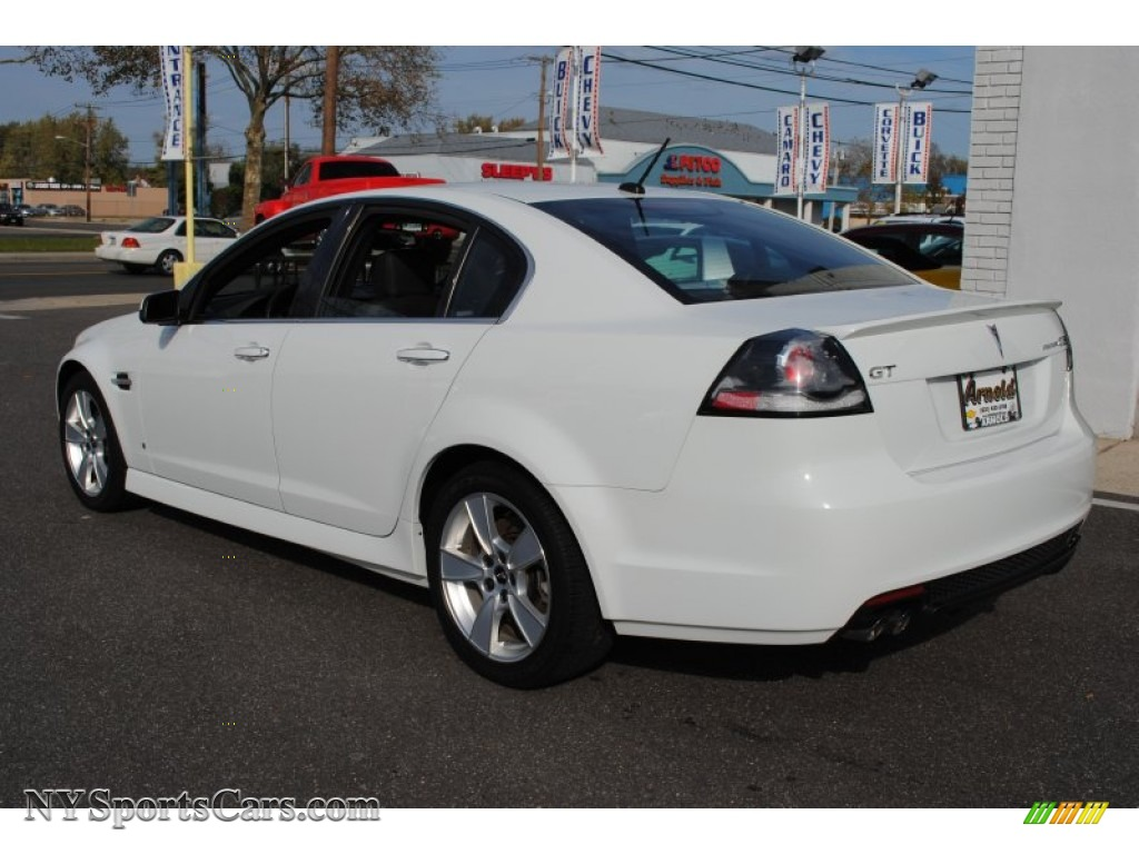 2009 Pontiac G8 Gt In White Hot Photo 4 202048 Nysportscars Com Cars For Sale In New York