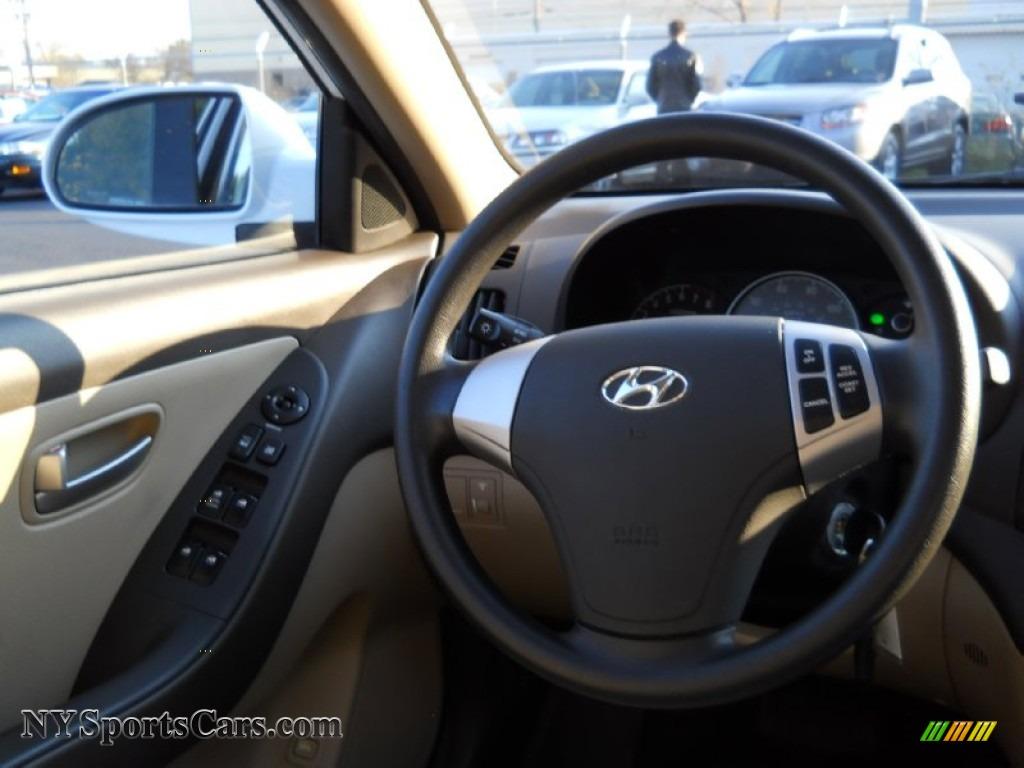 Vision Hyundai Henrietta >> 2008 Hyundai Elantra GLS Sedan in Captiva White photo #4 ...