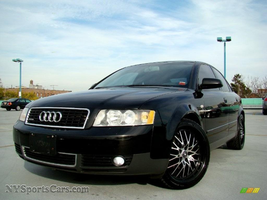 2004 audi a4 1.8t quattro sedan in brilliant black - 058411